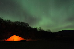 Northern Lights in Þingvellir National Park (part 3), October 2012
